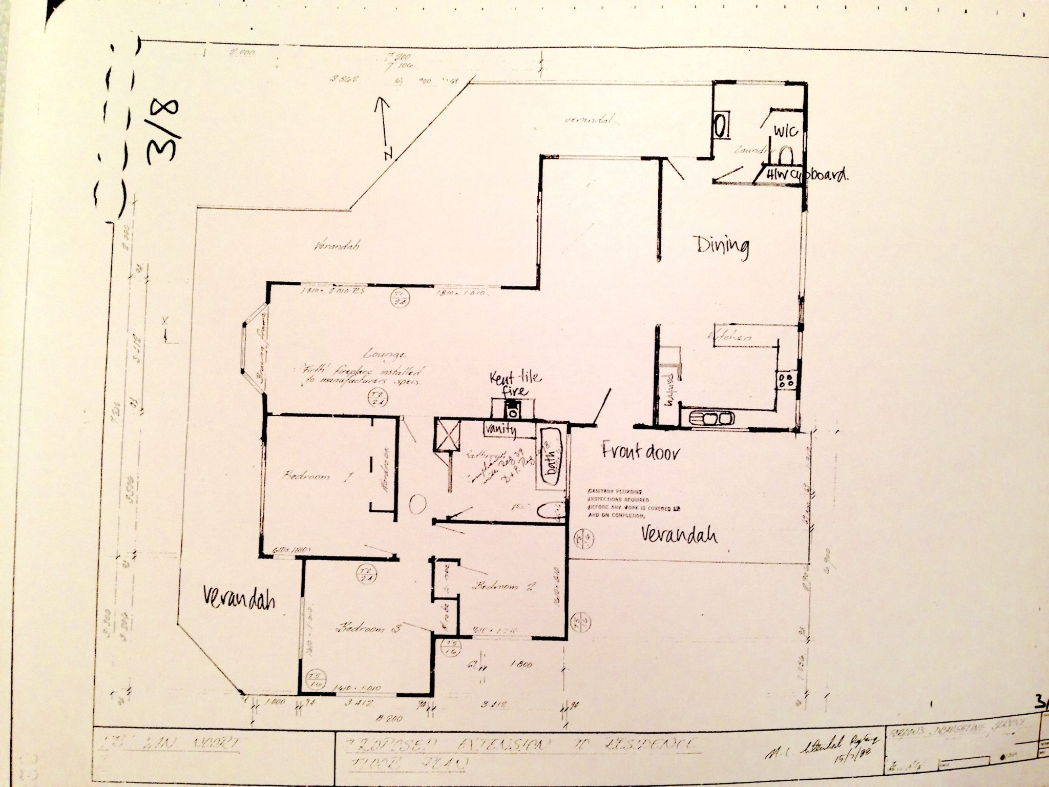 CEDARS house plan.