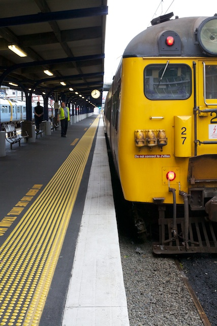 Train, Wellington NZ