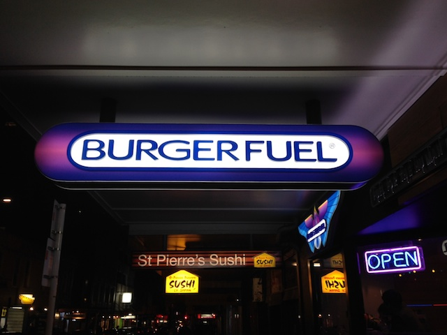 Burger Fuel, Cuba Street, Wellington, NZ