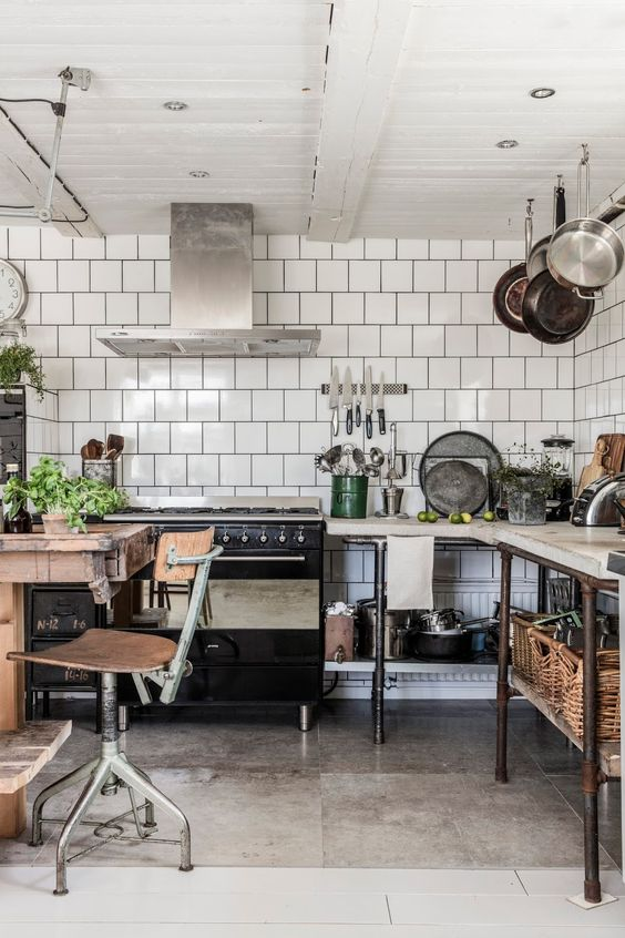 Natural / industrial kitchen