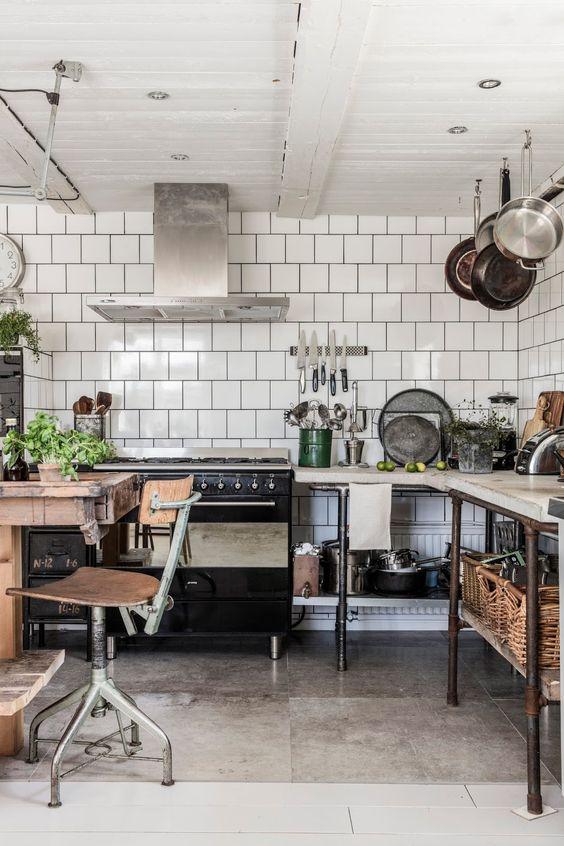 Natural / industrial kitchen